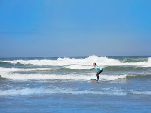 4 Day Family and Friends Thrilling Surf Holidays in Praia Azul, Lisbon