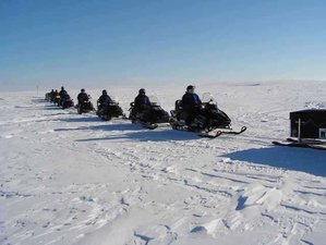 4 Days Forest Landscape Guided Snowmobile Tour in Lappland, Sweden