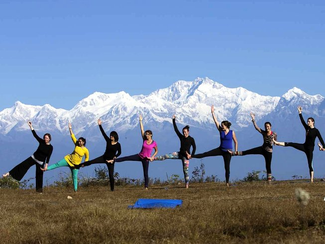 28 Days 200-Hour YTT in the Himalayas