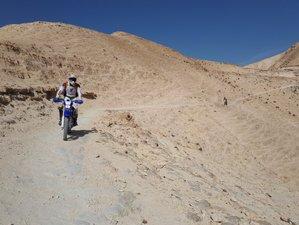 4 Day Enduro Cross-Desert Guided Motorcycle Tour in Judean Desert