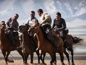 12 Day Traveling Pass the Golden Silk Road Horse Riding Holiday in Kyrgyzstan