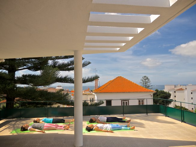 4 Days Sun Salutation Yoga Retreat in Cascais, Portugal