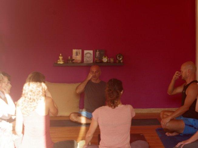 7 jours de cours avancés, première série, de yoga chikitsa en Crète, Grèce