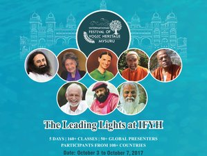 5 Days International Yoga Festival in Mysuru, India