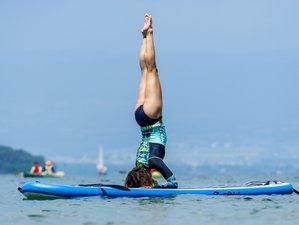 4 jours en stage de yoga, trekking, pleine conscience et SUP dans les Alpes, France