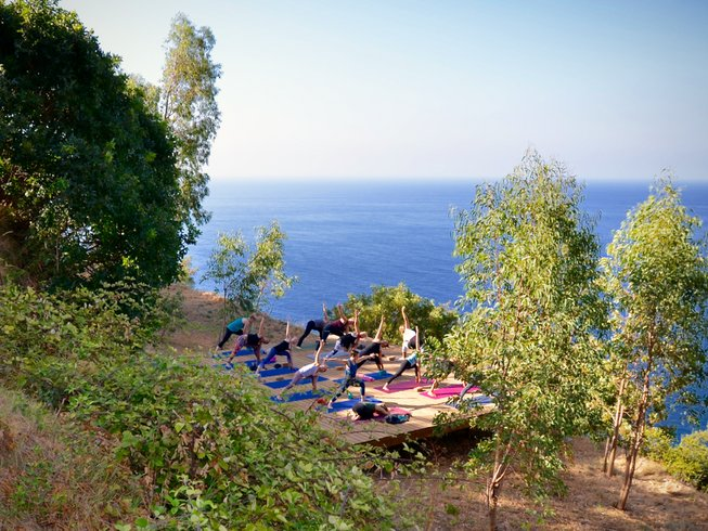 7 jours en stage de yoga à Campanie, Italie