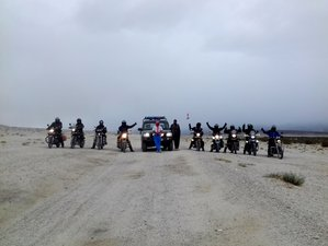 11 Day Ride to the White Desert Through Ghost Town Guided Motorcycle Tour in India