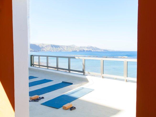 8 días retiro de yoga en Gran Canaria, España