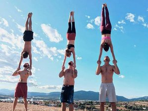 5 Days Acrobatic Convention Yoga Retreat in Granada Area, Spain