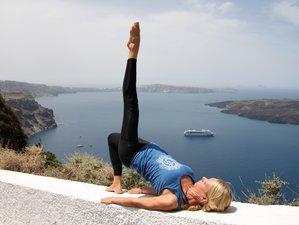 8 Days Rejuvenating Yoga & Pilates Retreat in Santorini, Greece
