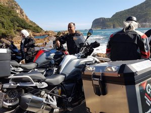 8 Days Guided Luxury Garden Route Motorcycle Tour in South Africa