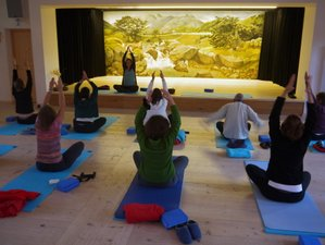 5 Tage Yoga und Schneeschuhwandern in den Ammergauer Alpen, Bayern
