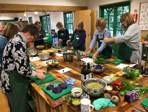 3 Days Italian, British, Middle Eastern, Indian Organic Vegetarian Cooking Holidays in England