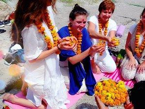 8 Days Family Yoga & Meditation Retreat in Rishikesh, India