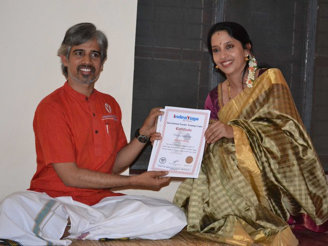 28 Days 250hr Ashtanga Yoga Teacher Training in India