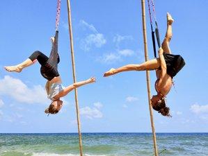6 Tage 50-Stunden Aerial Yogalehrer Ausbildung am Strand auf Koh Phangan, Thailand