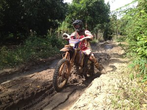 11 Day Ancient Tribal Guided Enduro Motorbike Tour Cambodia