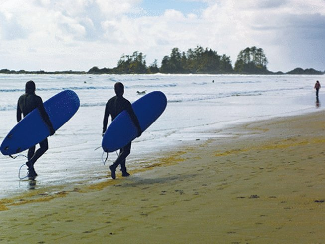 5 Days Surf Camp Canada for Beginners