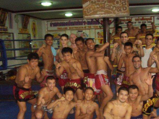 3 Months Thai Boxing Gym in Thailand