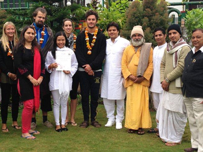 29 Days 200hr Vinyasa Yoga Teacher Training in Rishikesh, India