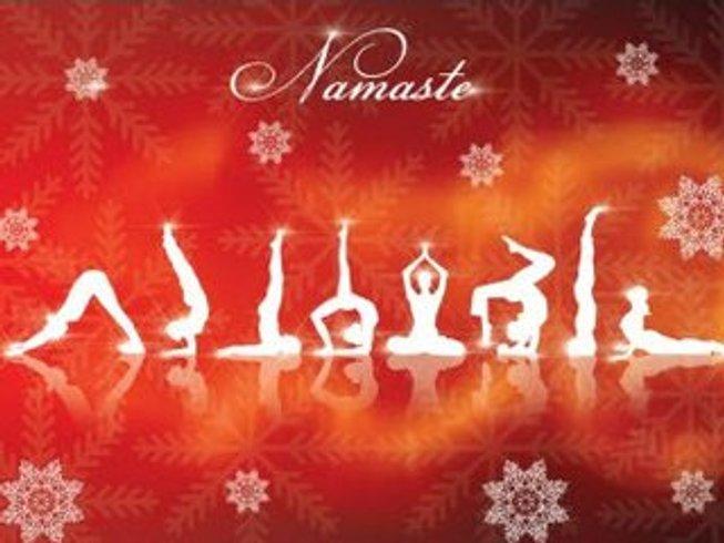 10 jours en stage de yoga et méditation à Noël et au nouvel an à Rishikesh, Inde
