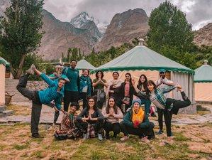 8 días de retiro de yoga y trekking en Gulmit, Gilgit-Baltistán