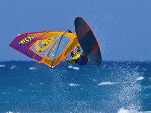 5 Day Windsurf Camp for Beginner and Intermediate Surfers in Barrabisa, Sardinia