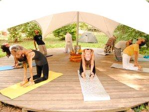 5 Day Shining Heart Hatha Yoga and Meditation Retreat in Barcelona Mountains, Girona, Catalonia