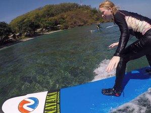 3 Tage Surfen, Entspannen und Entdecken der Schönen Insel Lombok
