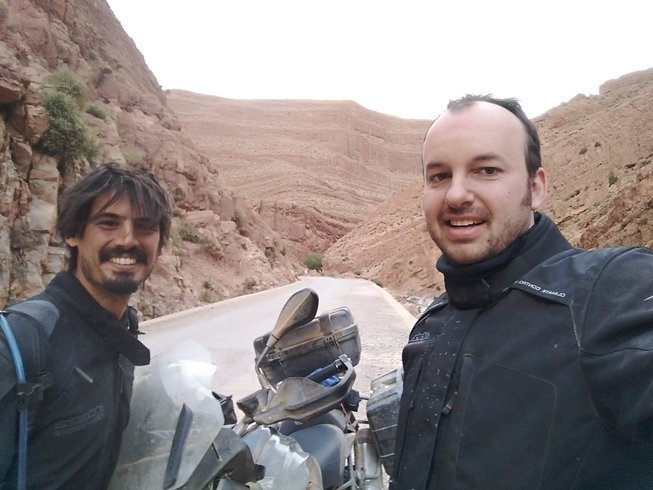 9 Days Cross-Country Motorcycle Tour in Spain and Morocco
