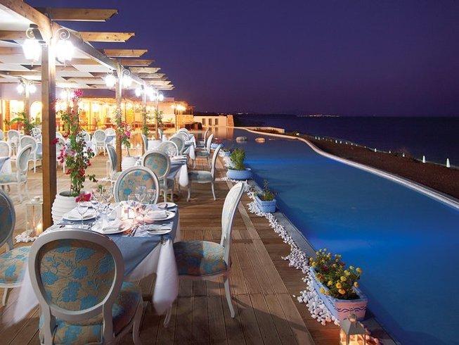 8 jours en vacances luxueuses de spa, yoga et méditation sur l'île de Rhodes, Grèce