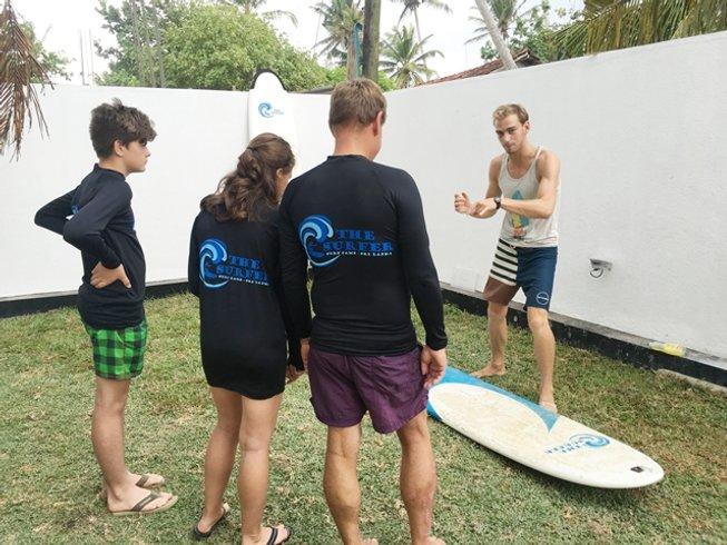 8 Days Yoga and Surf Camp in Pelena, Weligama, Sri Lanka