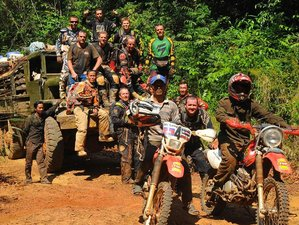 7 Day Southern Cambodia Guided Motocross Tour from Phnom Penh to Sihanoukville and Back