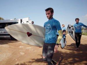 4-Daagse Surf Vakantie met The Surf Professional Academy in het Prachtige Cascais, Lissabon