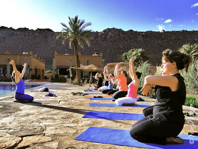 5 Tage Inspiration Pur Yoga Retreat in Marrakesch, Marokko