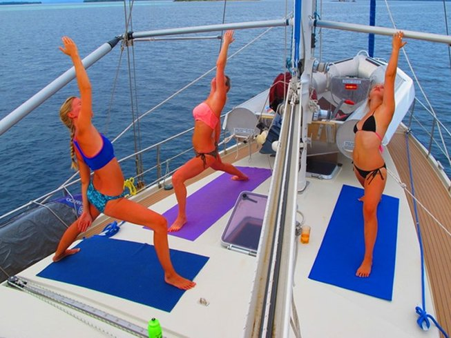 8 Days Cruising Yoga Retreat in Maldives