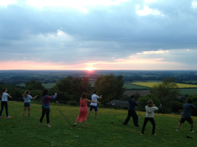 27 Days Metamorphosis Tai Chi and Mixed Martial Arts Training in Oxfordshire, UK