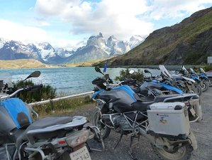 15 Day Patagonia and the End of the World Guided Motorcycle Tour in Chile and Argentina