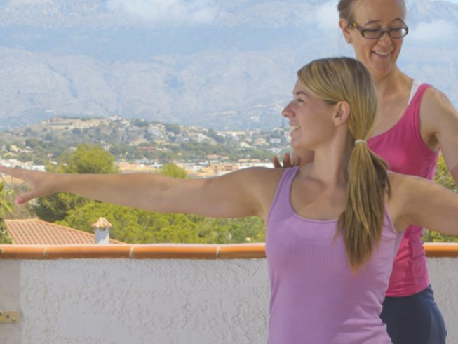 8 Days Rejuvenating Yoga Retreat in Costa Blanca, Spain