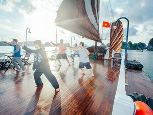 6 Day Yoga, Spa, and Vietnam Cruise Tour in Halong Bay and Yen Tu Sanctuary