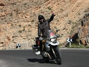 8 Days Desert and Atlas Guided Motorcycle Tour in Morocco