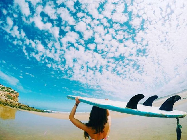 8 Days Yoga and Surf Camp for Women in Sargacal, Lagos, Portugal