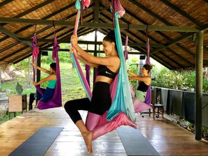 8 Day Jungle Aerial Yoga Retreat in Montezuma, Puntarenas