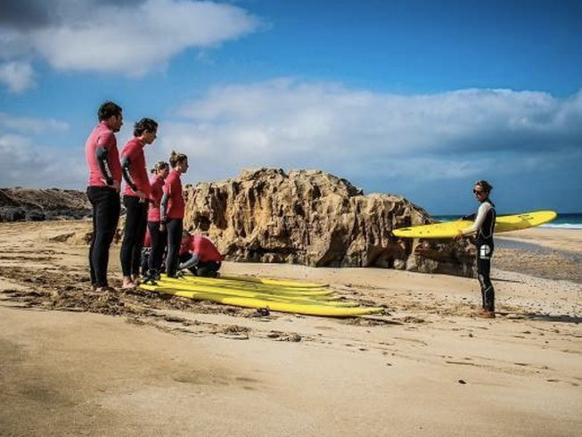 8 Days Surf Camp in Fuerteventura, Spain