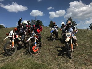5 Days Guided Enduro Motorcycle Tour in Bajina Basta, Serbia