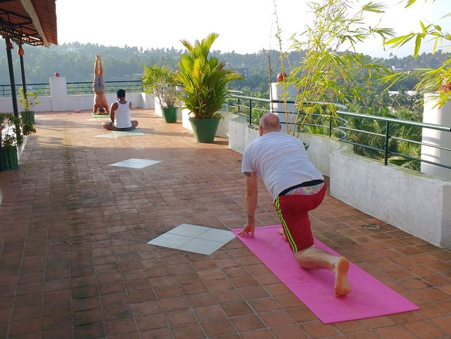 7 Days Mind Relaxation and Purification Yoga Holiday in India