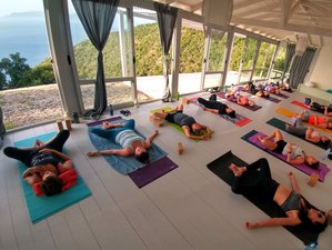 8 Day Indian Meditation and Healing Yoga Retreat in Lefkada