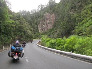 17 Days Self-Guided Motorcycle Tour in North Island, New Zealand