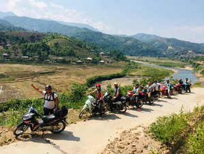 2 Days Riding around Hoanglien National Park Guided Motorcycle Tour in Vietnam