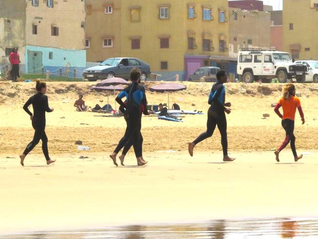 4 Days Taghazout Surf and Yoga Vacation, Morocco